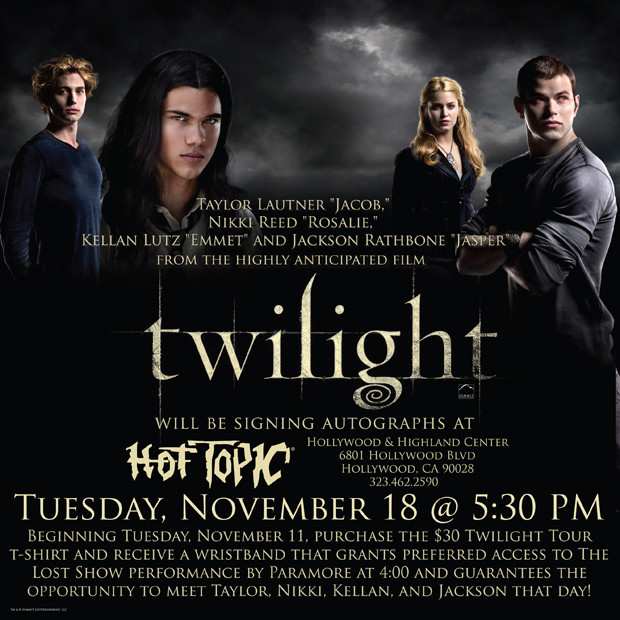 Hot Topic Hollywood Event