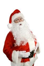 Justin, Mike, & ...Santa?
