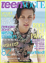 Kristen is Teen Vogue Cover Girl