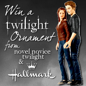 Edward & Bella Keepsake Ornament Give-A-Way!