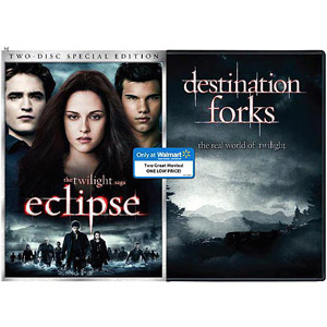 Walmart To Offer Eclipse/Destination Forks DVD Combo Pack