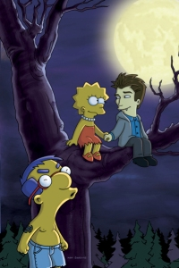 The Simpsons Goes Twilight