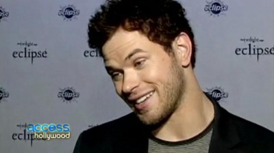 Kellan Lutz Talks to Access Hollywood about Arm Wrestling Kristen Stewart, Best Abs & More