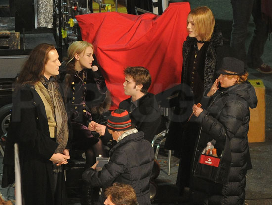 'Breaking Dawn' Set Pics of the Volturi
