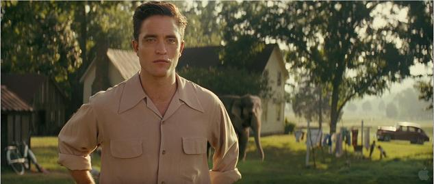 """Water for Elephants"" Trailer Starring Robert Pattinson"