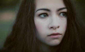 Jodelle Ferland in Behind Sapphire Music Video