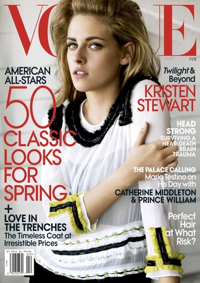 Kristen Stewart on the Cover of Vogue