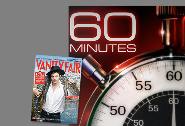 Rob's Vanity Fair Cover Revealed!