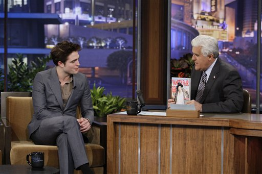 Reminder: Rob On Leno Tonight!