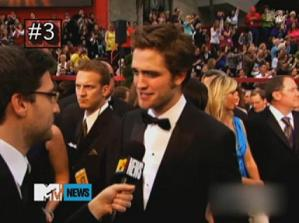 MTV's #3 Rob Moment: What Am I Doing at the Oscars?!
