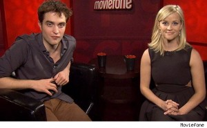 Rob and Reese Witherspoon on Moviefone's Unscripted