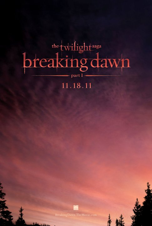 """Breaking Dawn: Part 1"" Teaser Poster!"