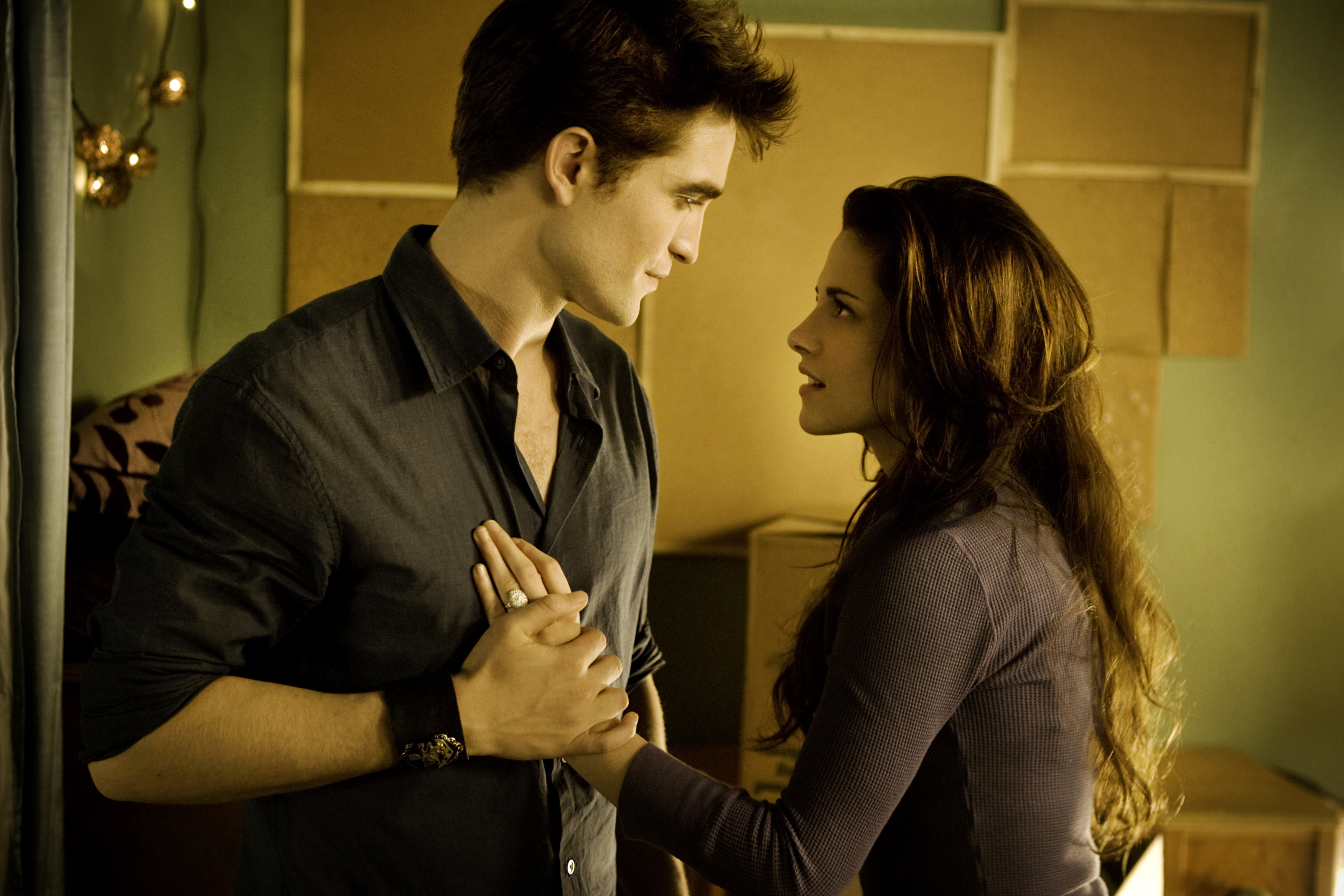 New 'Breaking Dawn' Still: Edward Put a Ring on It :)