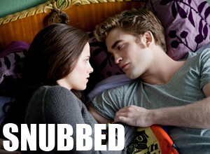 Confessions of a Male-Twihard: Eclipse Was Snubbed!