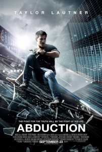 New Poster for Taylor Lautner&#8217;s &#8216;Abduction&#8217;