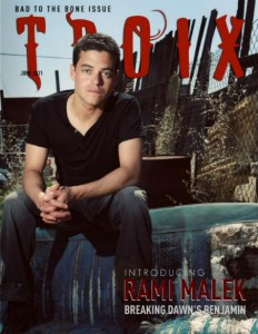 Rami Malek Featured in TROIX Magazine