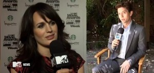 Jackson Rathbone & Elizabeth Reaser on 'Breaking Dawn' & MTV Movie Awards