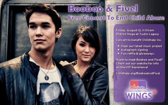 Free Concerts With Booboo Stewart