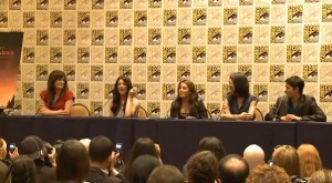 Video of the Liz, Ashley, Nikki, Julia &amp; BooBoo Comic-Con Press Conference
