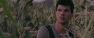 Funny or Die: Taylor Lautner Builds a Football Field!
