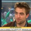 Today Show: Rob Talks about the Wedding Scene & the Dress
