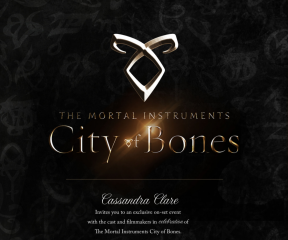 Set Visit to The Mortal Instruments: City of Bones
