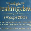 MovieTickets.com Premiere Sweepstakes! (Yes, Another One!)