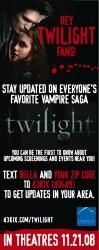 Receive Twilight Updates