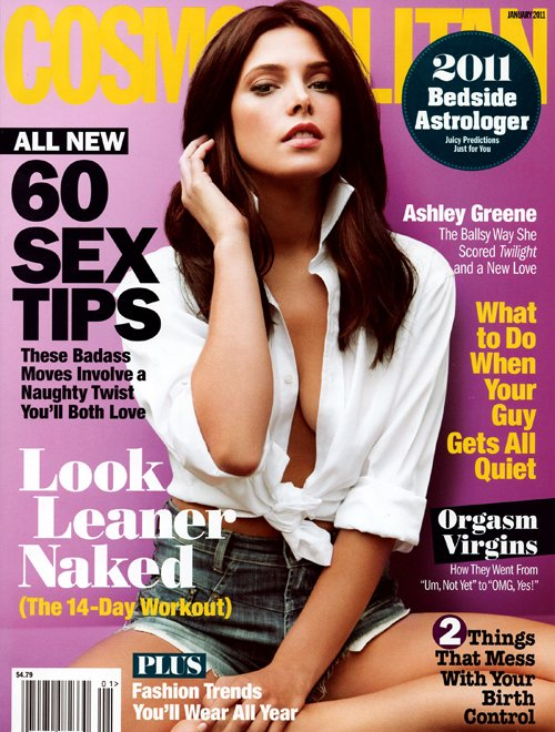 Ashley's Cosmopolitan Cover