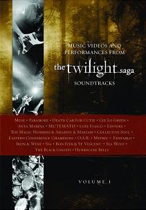 The Twilight Saga Soundtrack DVD Goes Gold