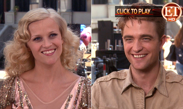 "Rob Talks Romance On Set Of ""Water For Elephants"""