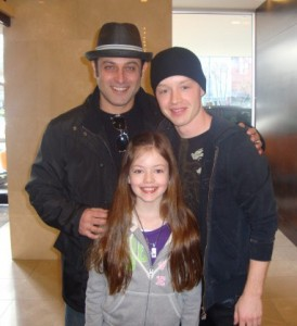 "Noel Fisher Tweets Pics of His Last Day of Work on ""Breaking Dawn"""