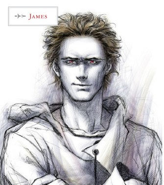 The Twilight Saga: The Official Illustrated Guide EXCLUSIVE... JAMES!