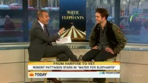 """Rob's Appearances on """"The Today Show"""" and """"Live with Regis & Kelly"""""""