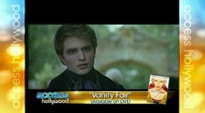 "Rob and Reese Flashback to His Work on ""Vanity Fair"""