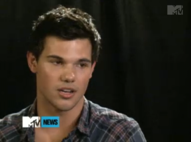 MTV First: Taylor Lautner Interview
