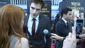 TwilightMOMS Interview Robert Pattinson at 'Water for Elephants' Premiere