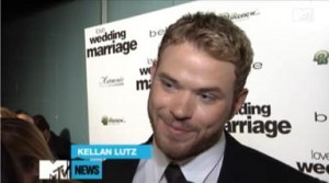 Kellan Lutz Tells MTV that His Favorite 'Breaking Dawn' Scene to Shoot Was...