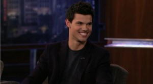Video: Taylor Lautner on Jimmy Kimmel Live!