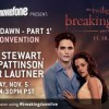 "Watch the Rob, Kristen, Taylor & Bill Condon ""Breaking Dawn"" Convention Panel Live!!!!"