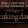 Breaking Dawn Part 2 Premiere Sweeps from f.y.e. guy