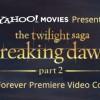 Yahoo! Movies Breaking Dawn Part 2 Premiere Sweeps!